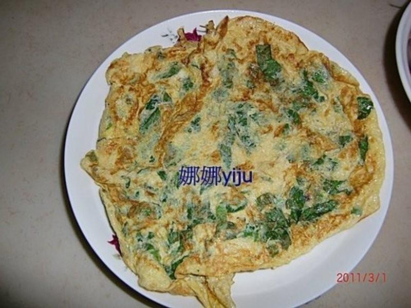 明日葉 煎蛋