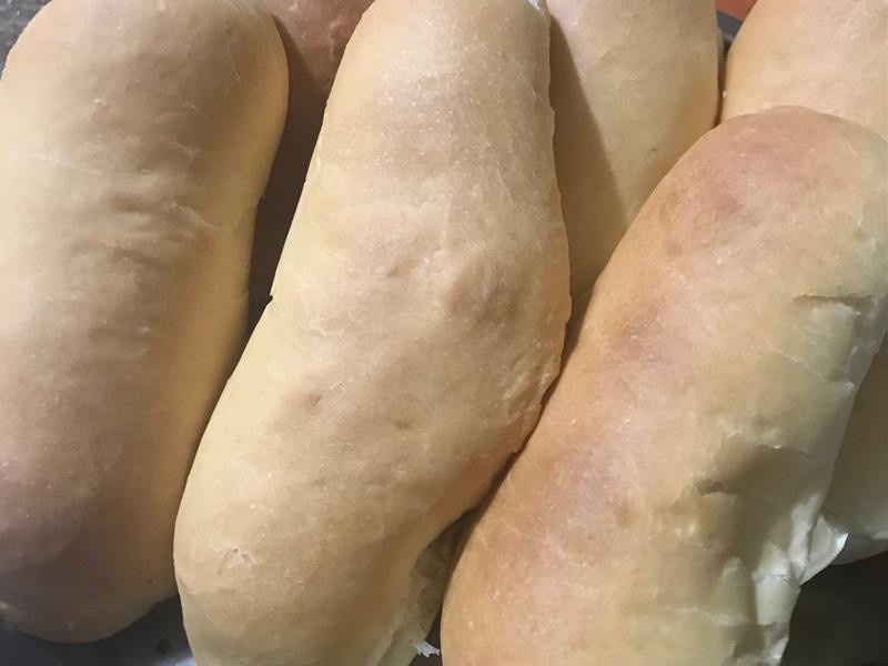 熱狗麵包-中種(使用水手牌麵粉)