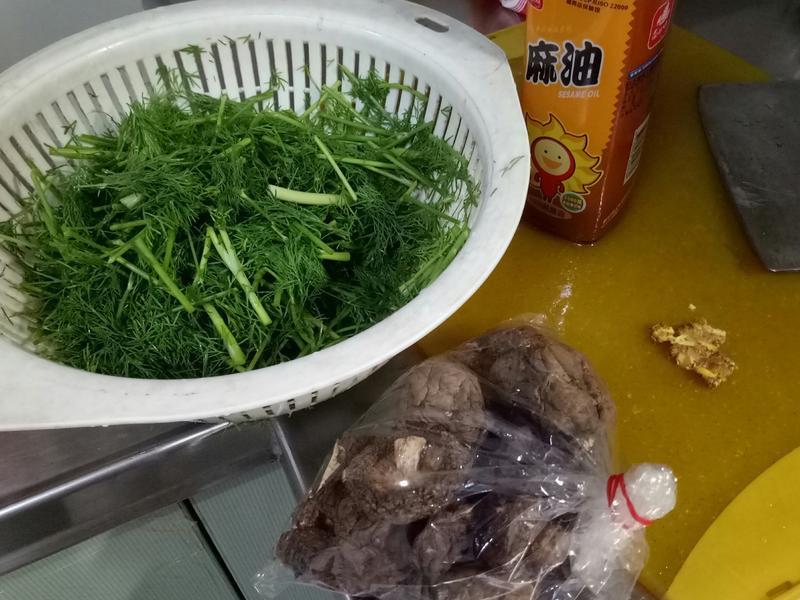 清炒茴香菜