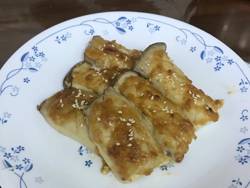 烤味噌杏鮑菇
