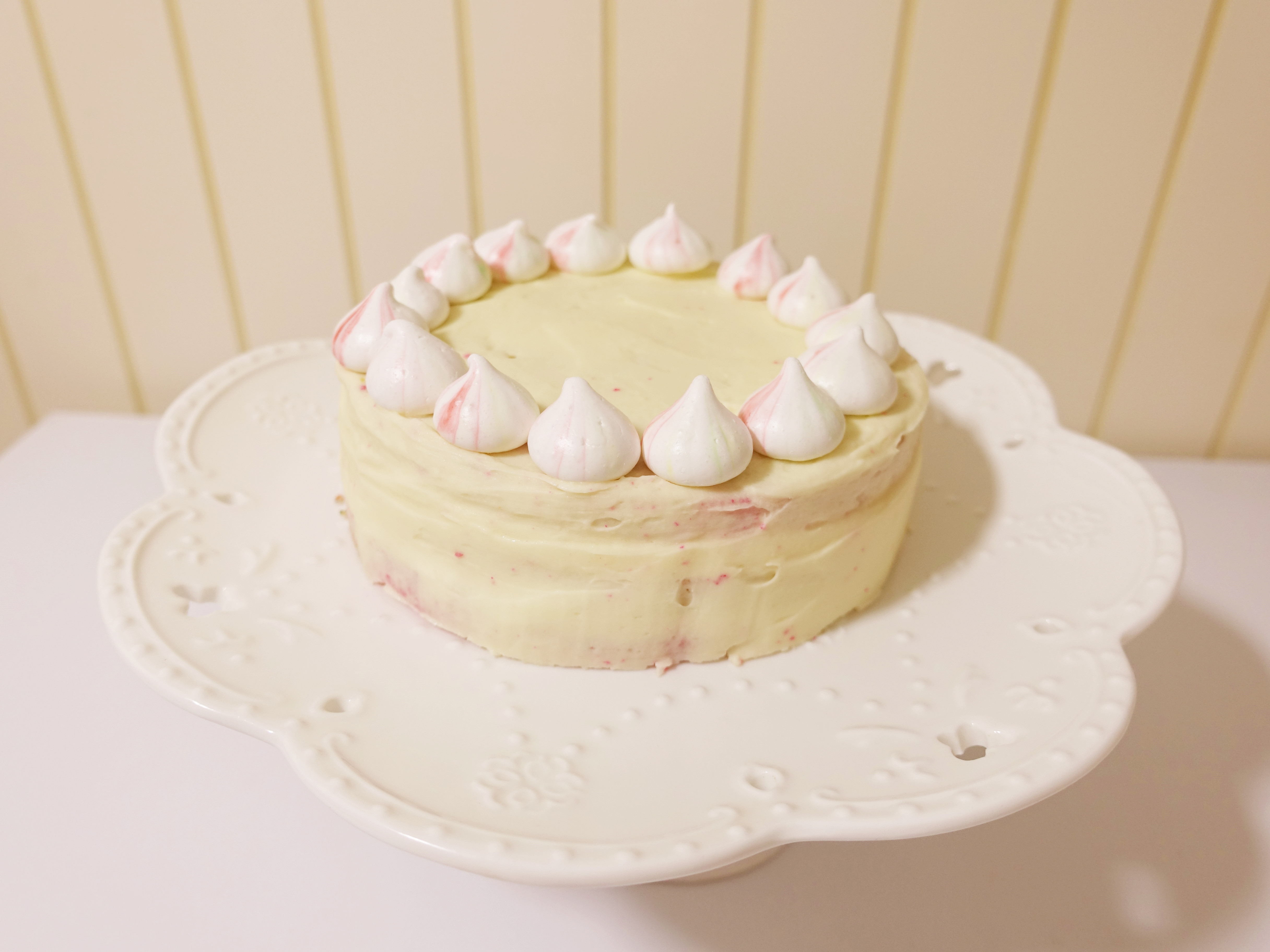 馬林糖X奶油乳霜X繽紛海綿蛋糕