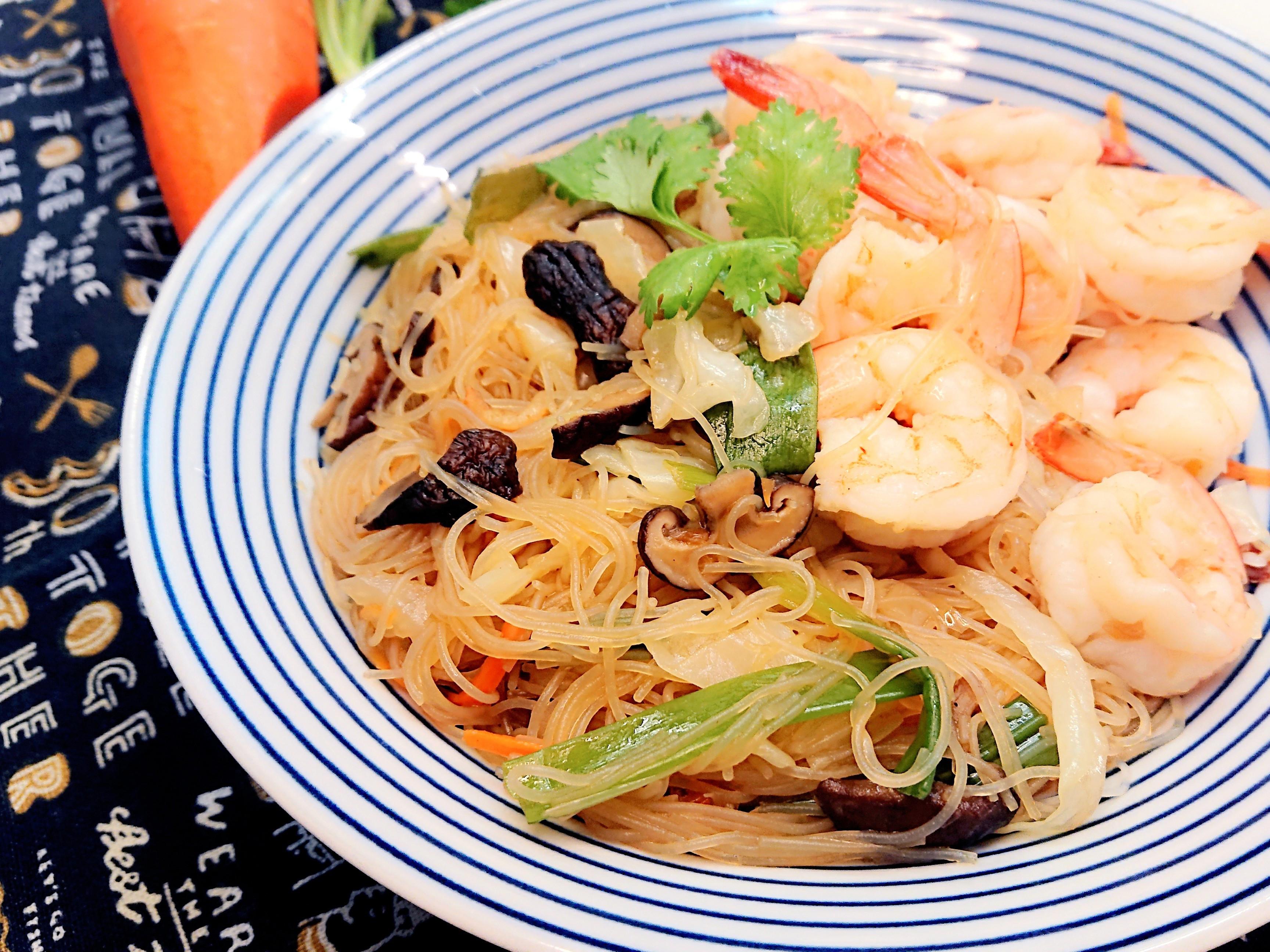 蝦蝦炒米粉