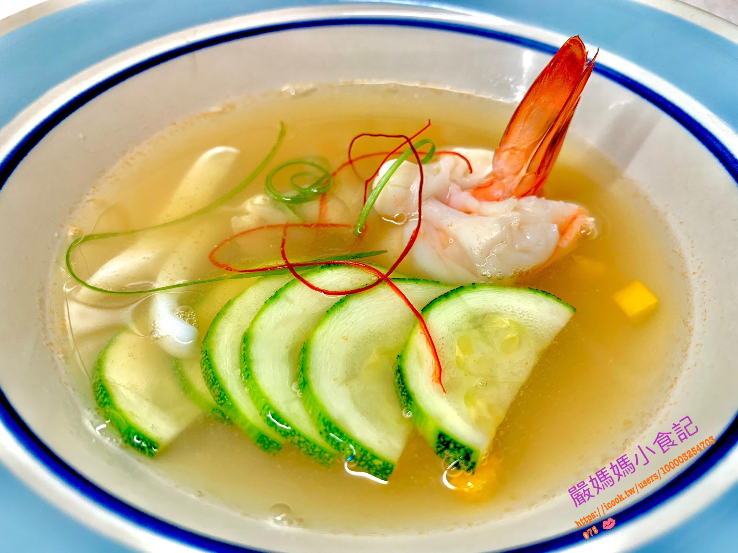 海鮮湯🦐 🦑🥒🥣