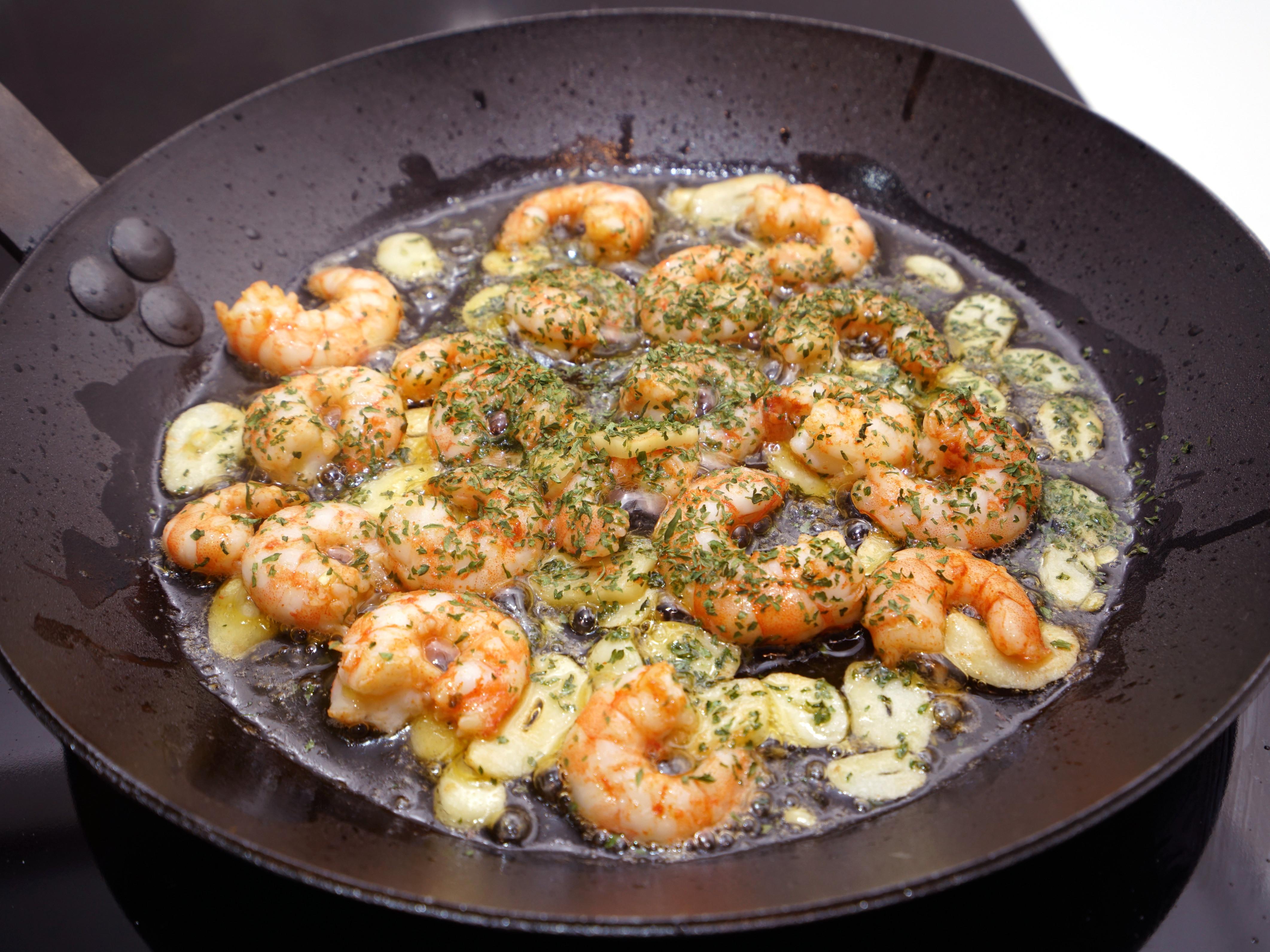 西班牙TAPAS 橄欖油蒜味蝦