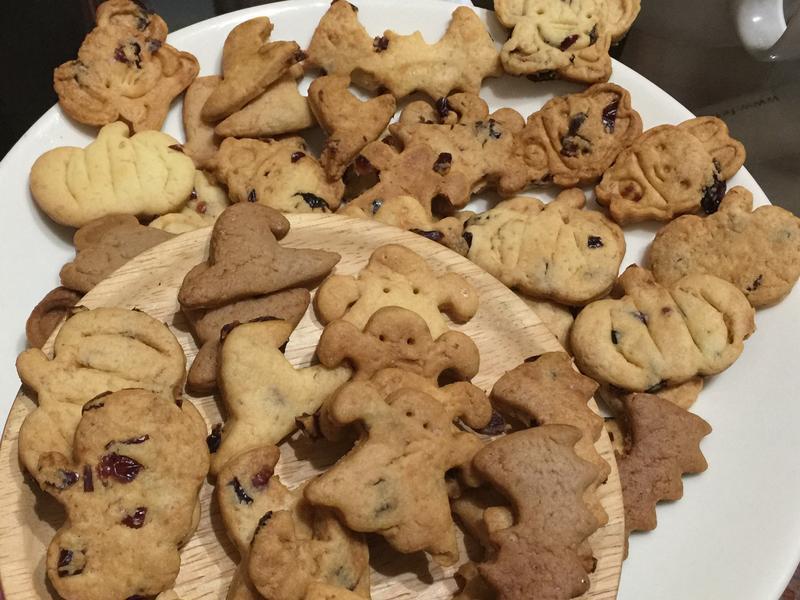 《甜蜜蜜》萬聖節🎃可可手指蔓越梅小餅乾