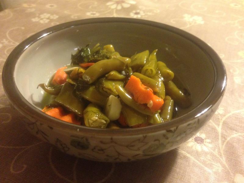 青椒橄欖油泡菜