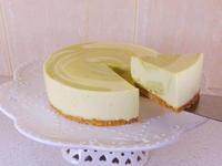 抹茶乳酪蛋糕(免烤箱)