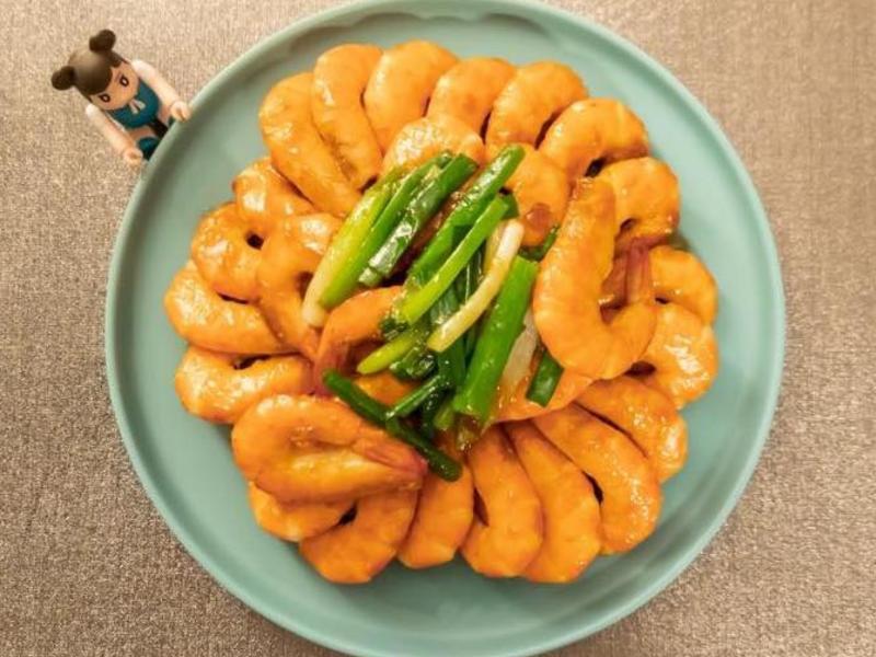 肥肥貓醬燒大蝦