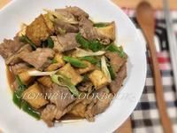 蒜苗豆腐醬燒豬~超下飯、便當菜