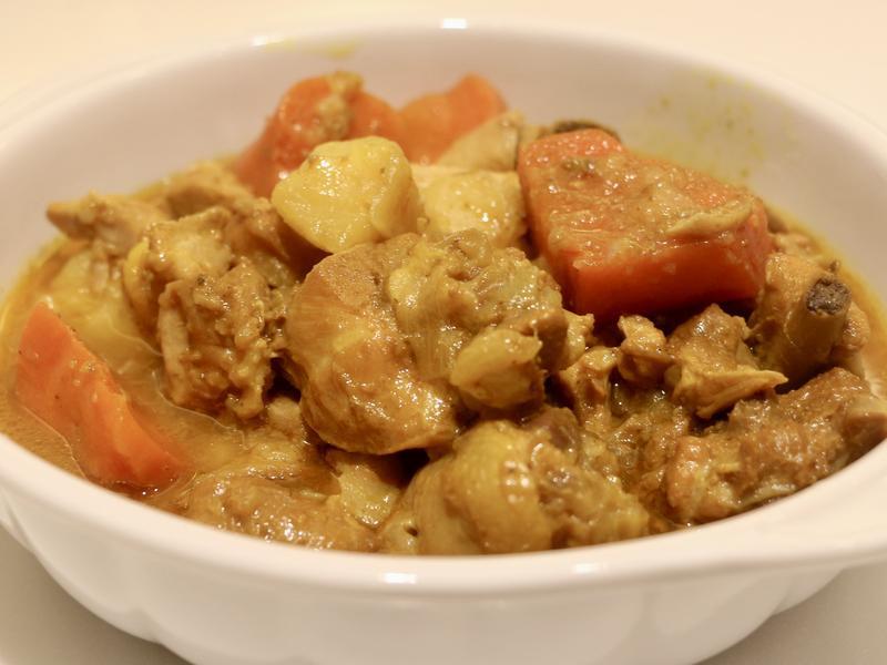 咖哩雞腿(快力鍋)