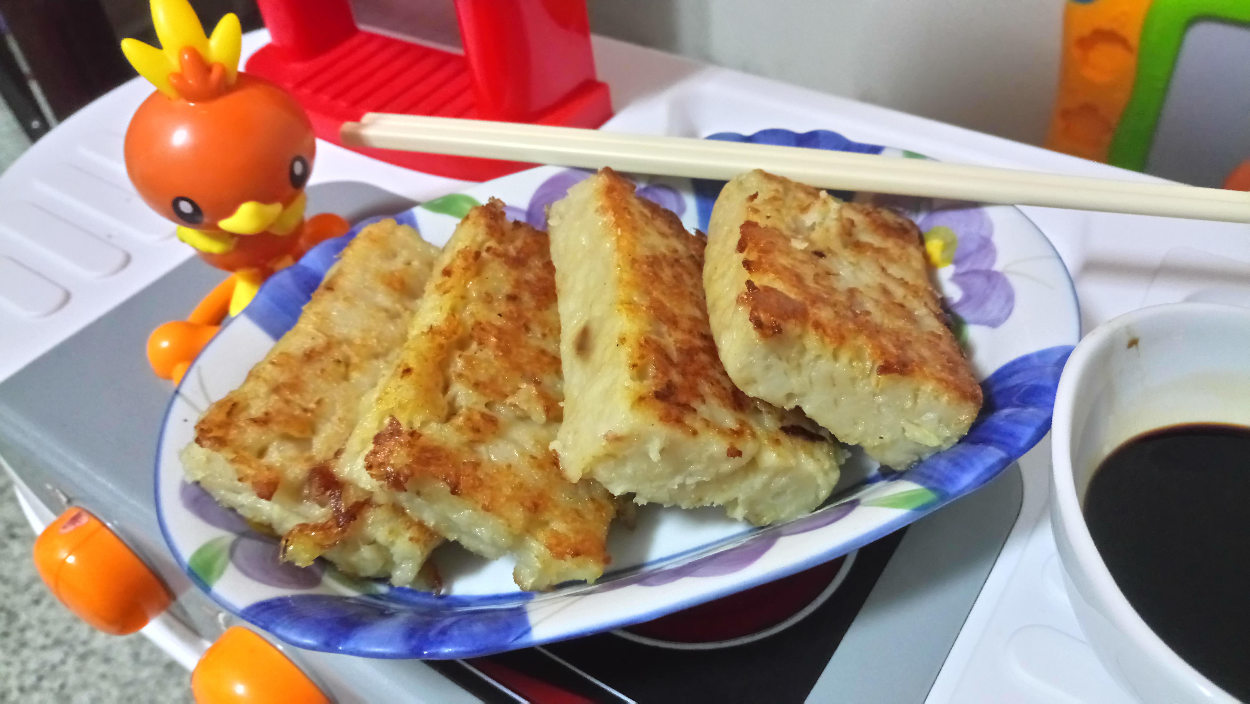 自製港式菜頭粿(電鍋版)