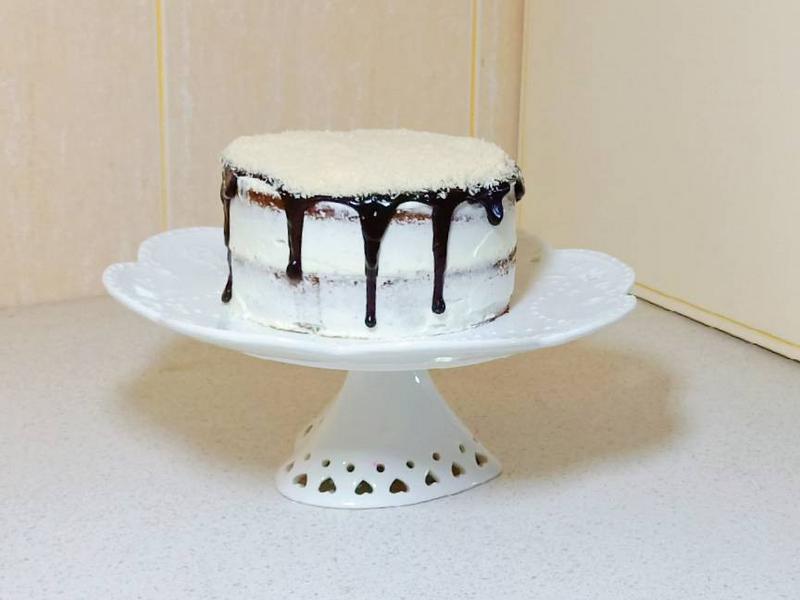 巧克力椰子海棉蛋糕