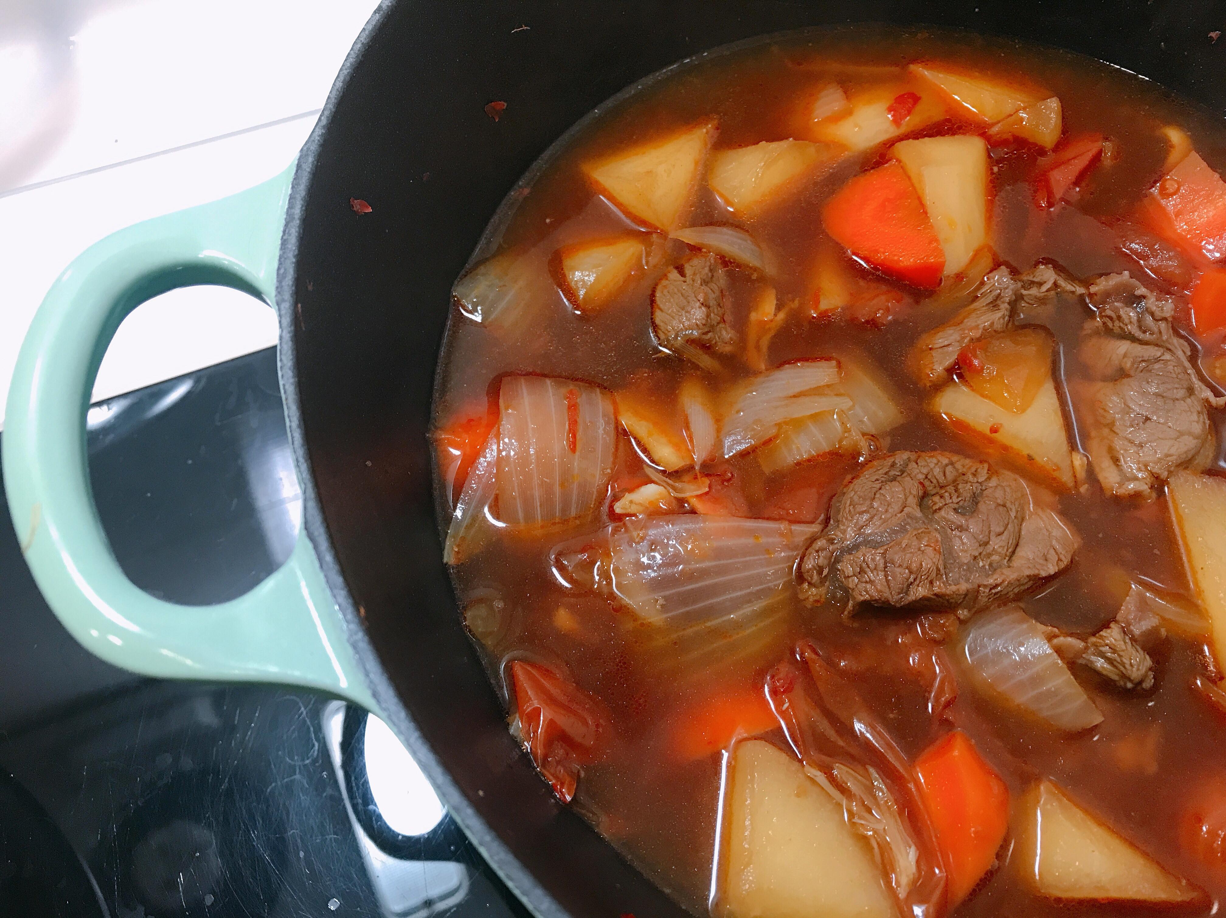 一鍋到底簡單版紅燒牛肉