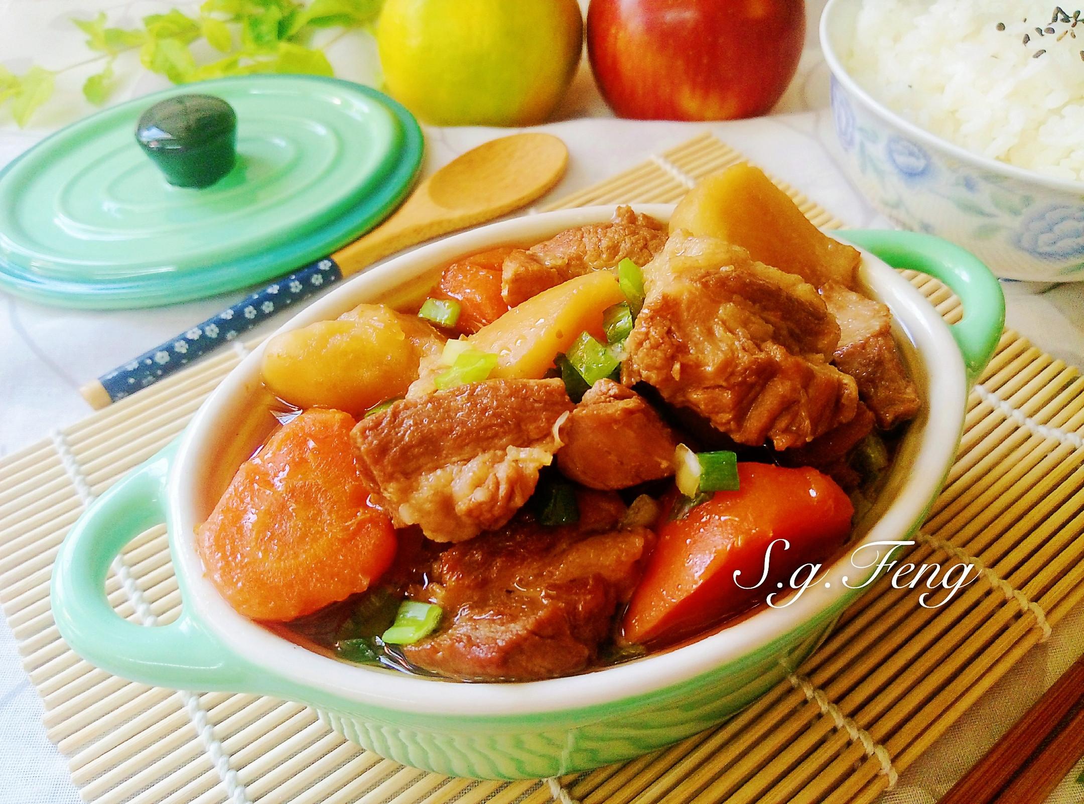 馬鈴薯燉肉(WMF快力鍋)