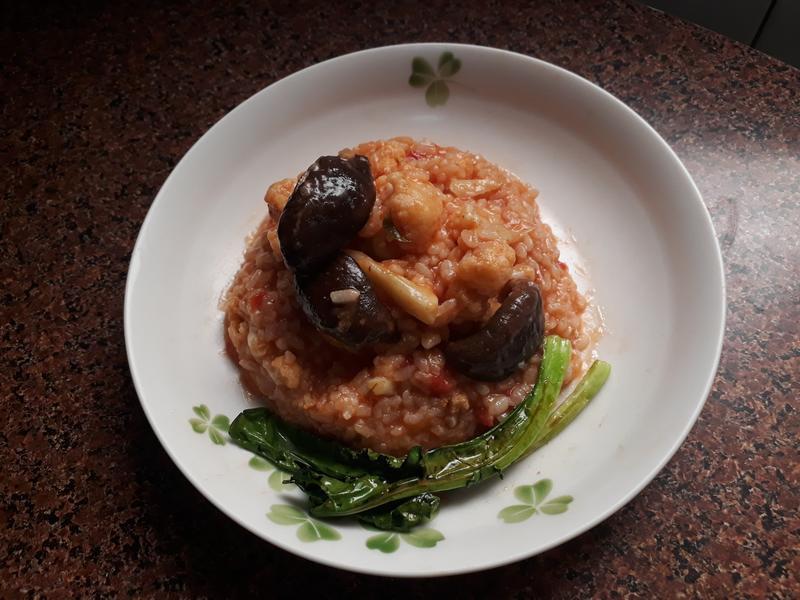 番茄菇菇鮮蔬燉飯