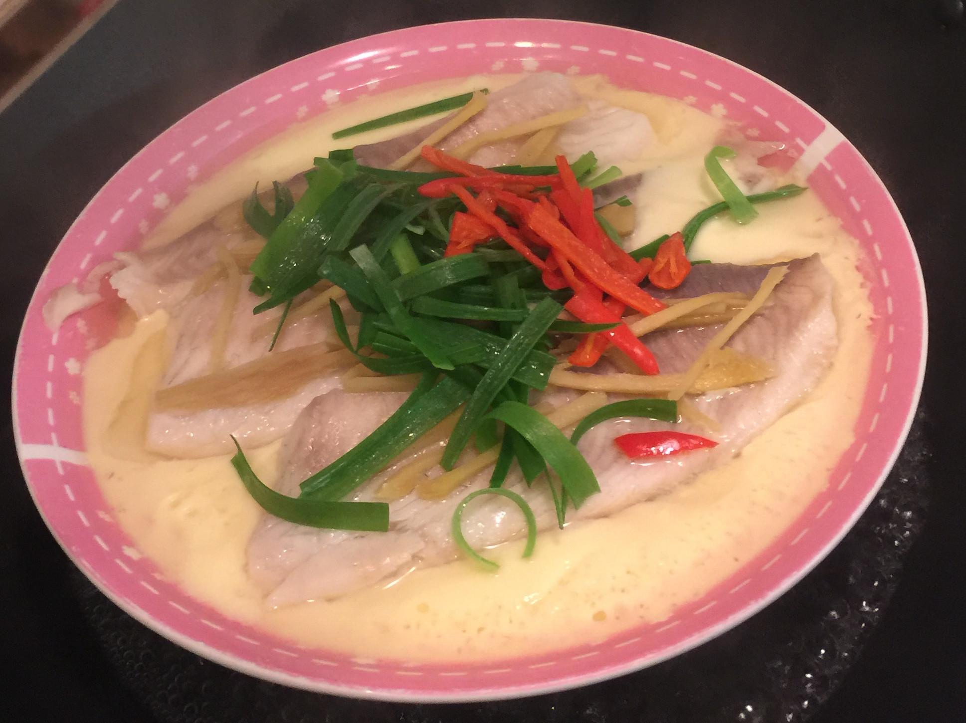 一起來晚餐-高湯蒸蛋鯛魚豆腐