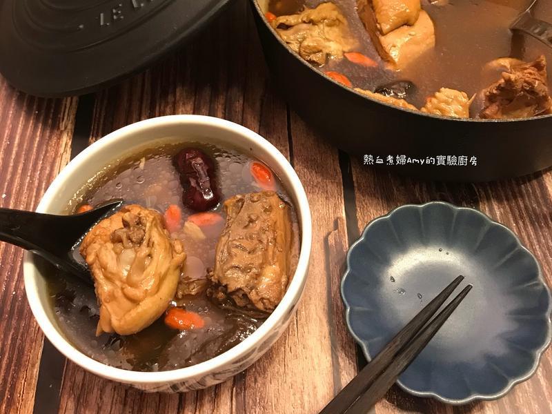 溫補湯品老菜脯雞湯(高家老菜脯)