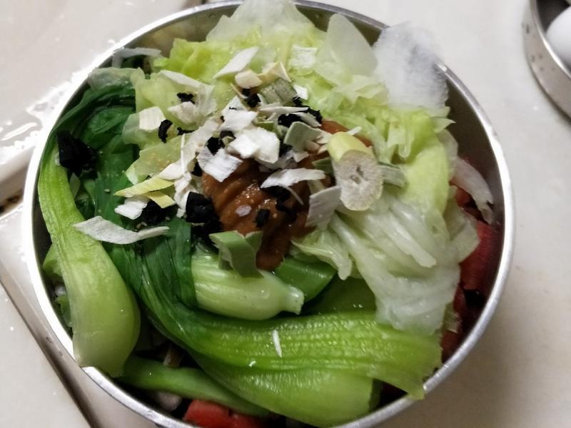養生蔬菜味增湯麵