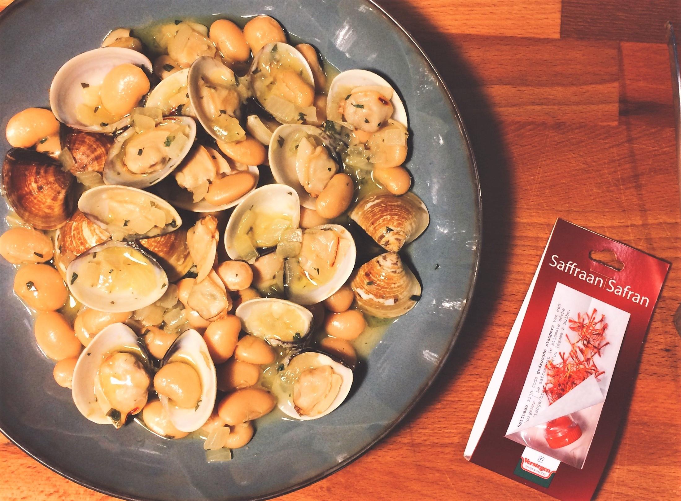 阿斯圖里亞斯式奶油豆燴蛤蜊