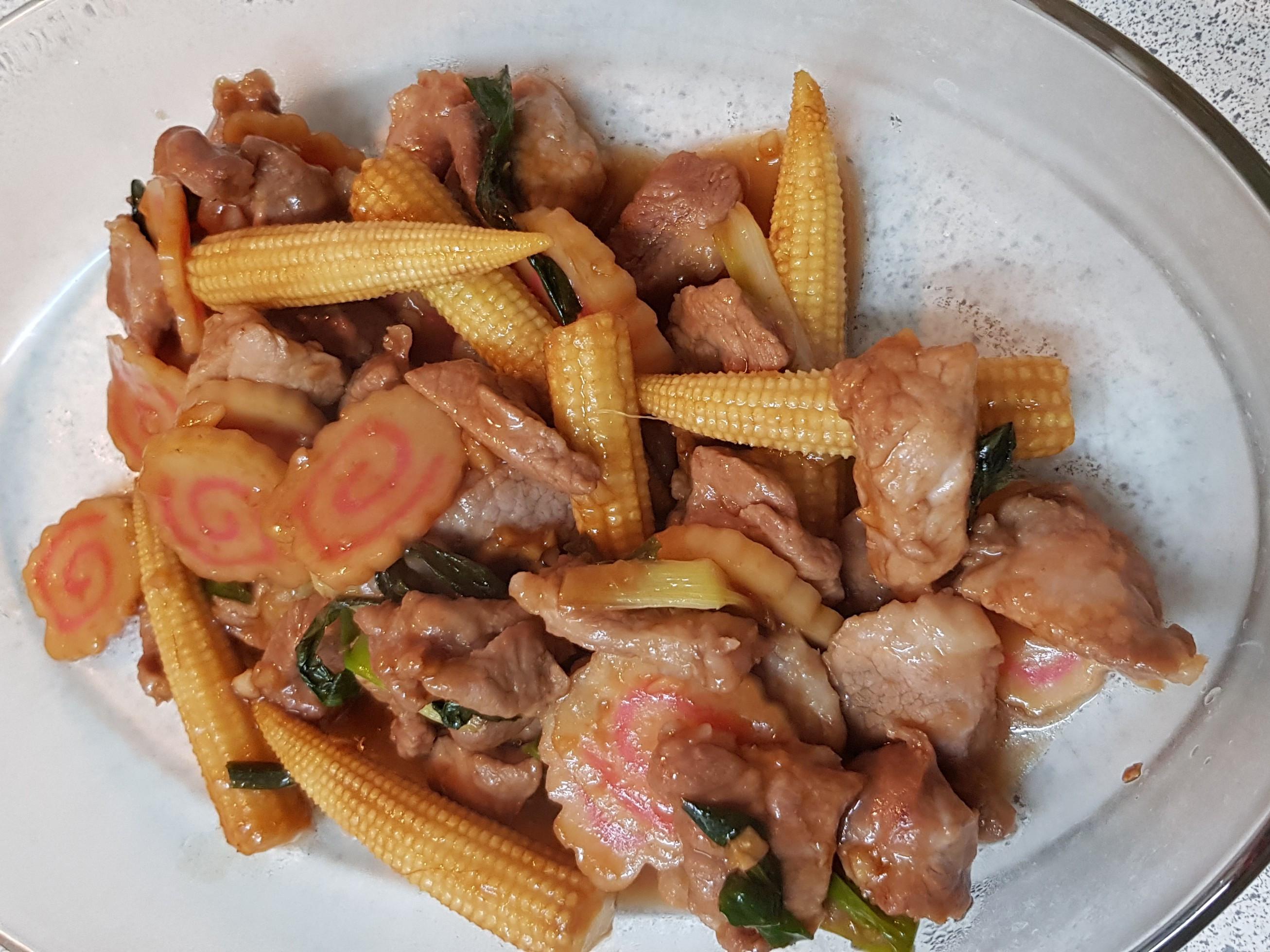 醬炒豬肉蔬菜