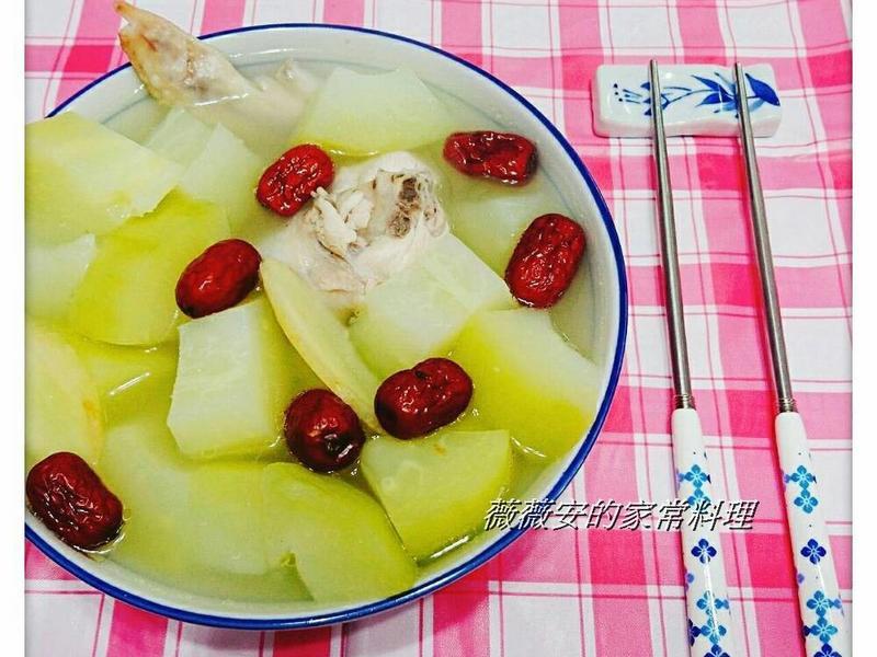 青木瓜燉雞湯