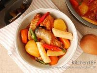韓式辣燉雞_零廚藝 電子鍋料理