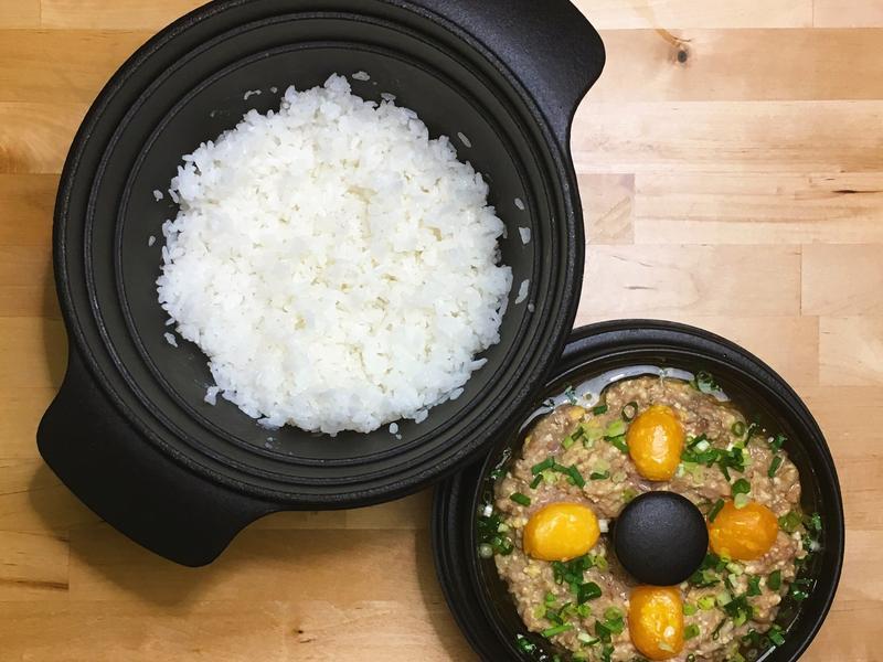 鹹蛋蒸肉餅+白米飯