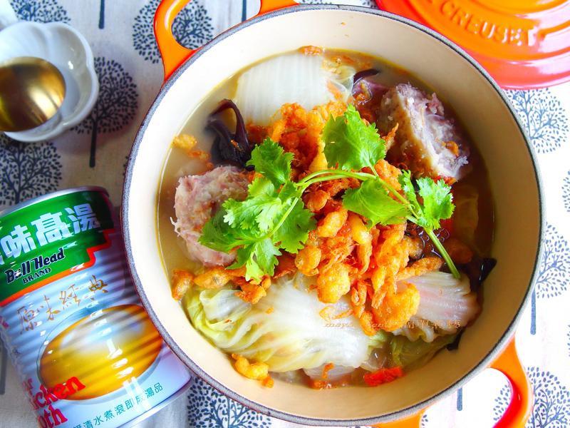 芋頭魯白菜