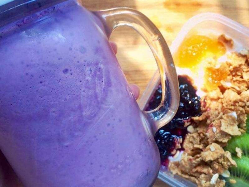藍莓奶昔(無鮮奶油、再製糖)🥤
