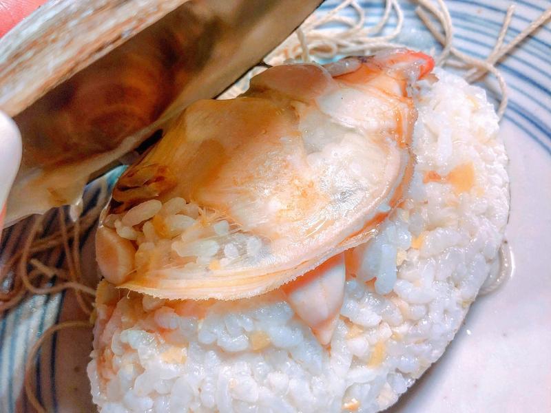 貝殼飯(電鍋版本)