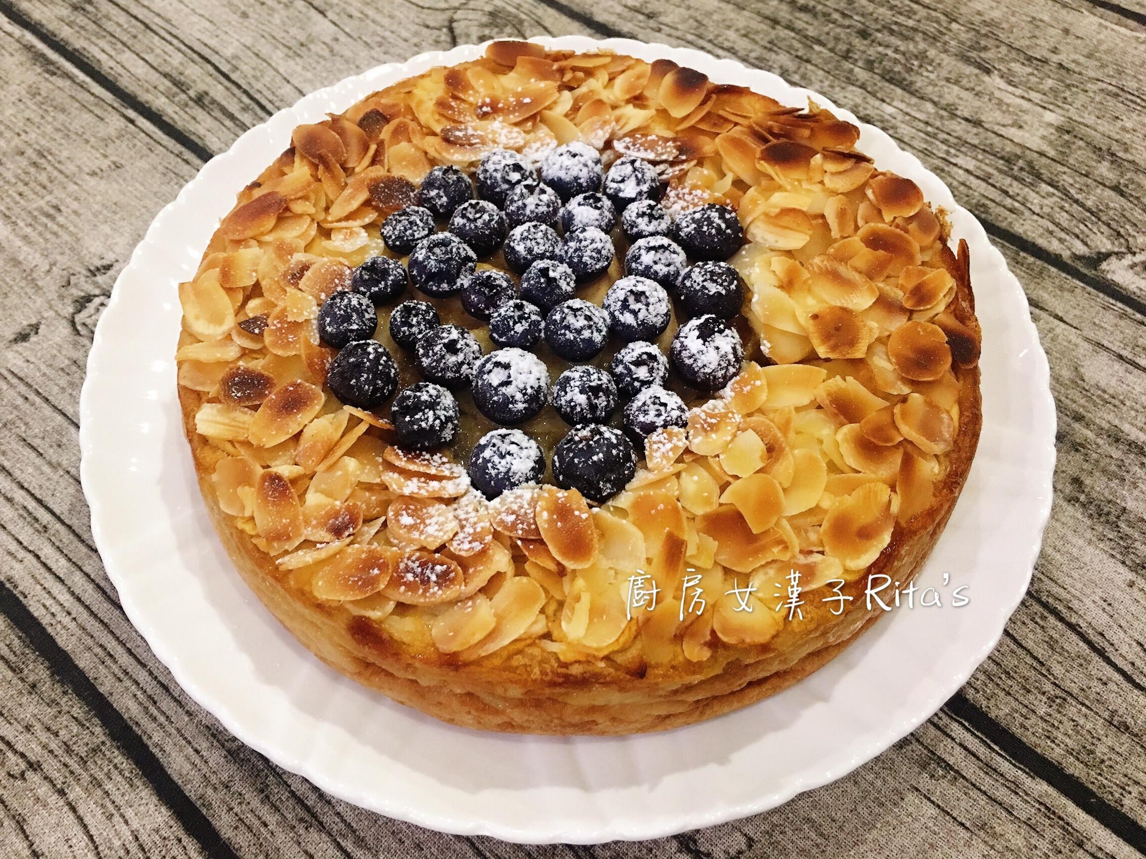 藍莓梨果隱形蛋糕