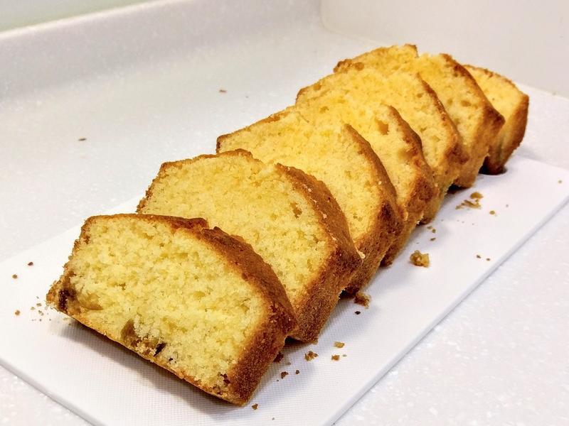 金棗磅蛋糕 #美善品