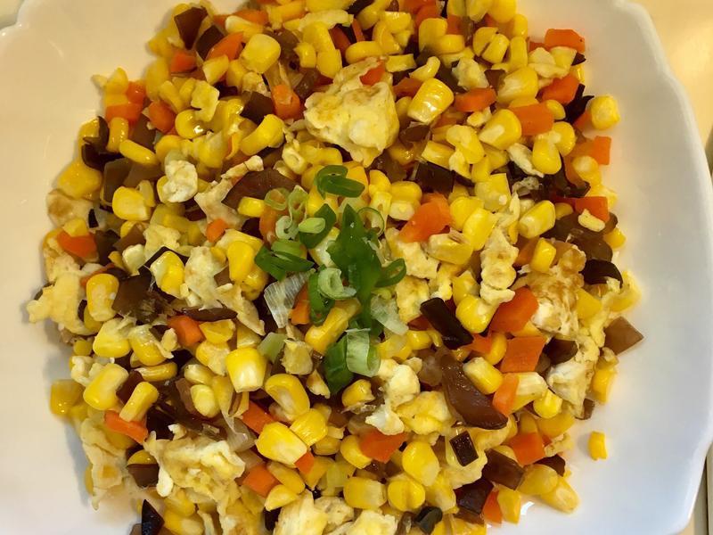 蛋炒玉米粒