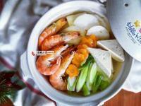 蘿蔔鮮蝦湯(電鍋料理)