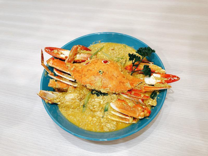 泰式咖哩螃蟹