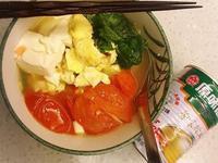 番茄豆腐雞湯麵