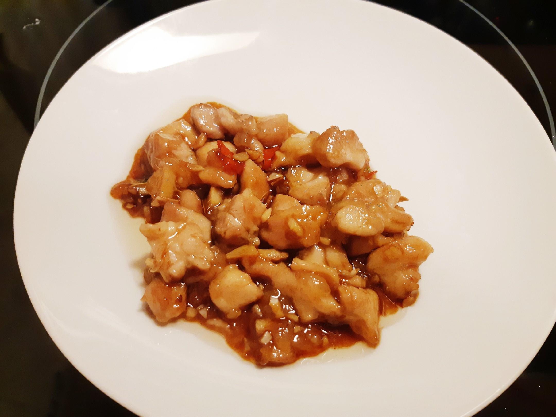 辣味醬料雞塊