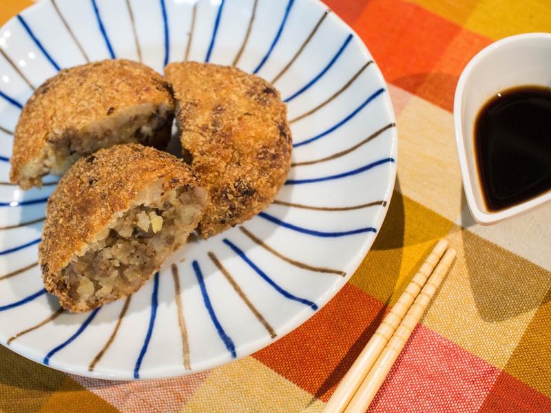 日式酥炸可樂餅