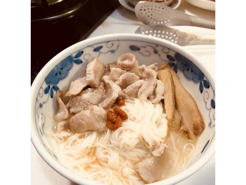 松阪豬麻油麵線
