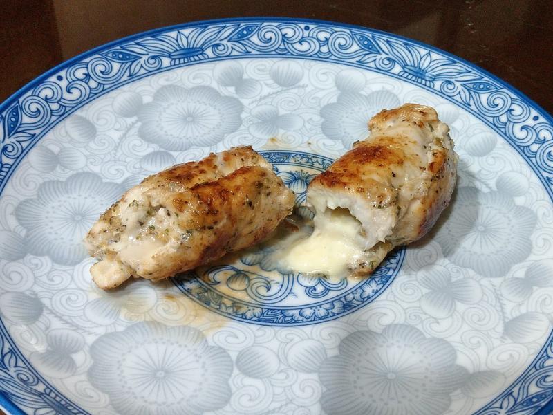 減肥低脂-雞胸肉起司捲