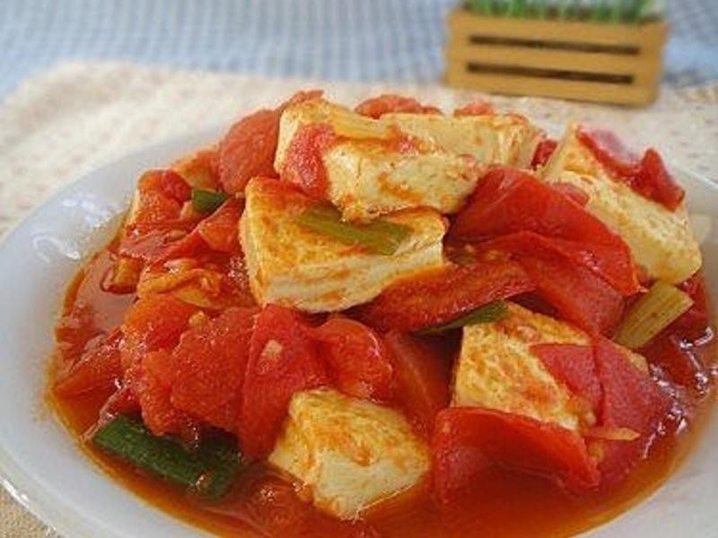 鮮茄蛋豆腐