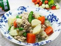 馬鈴薯蔬菜燉肉[牛頭牌原味高湯]