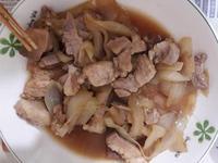 洋蔥醬燒豬肉