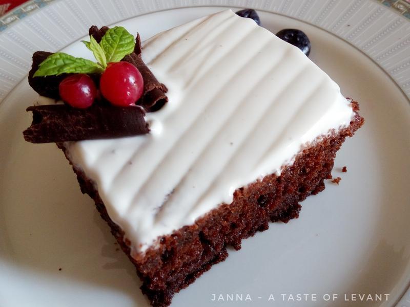超濕潤美式巧克力蛋糕-免磅秤