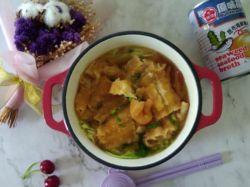 有(油)條魚味增湯