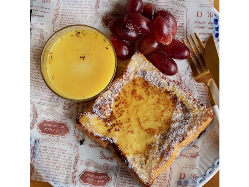 經典早午餐:香濃法國吐司(厚片做法)