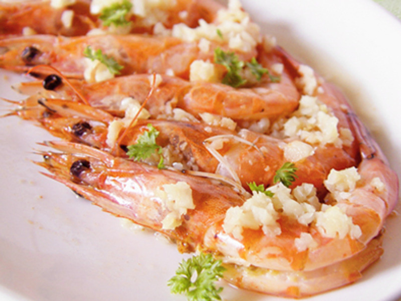 【厚生廚房】大蒜奶油蒸蝦