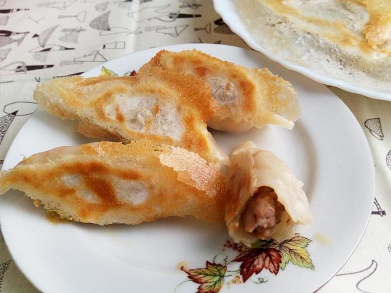 麻油薑豬肉餃
