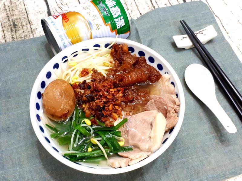 膨皮麵/肉燥麵