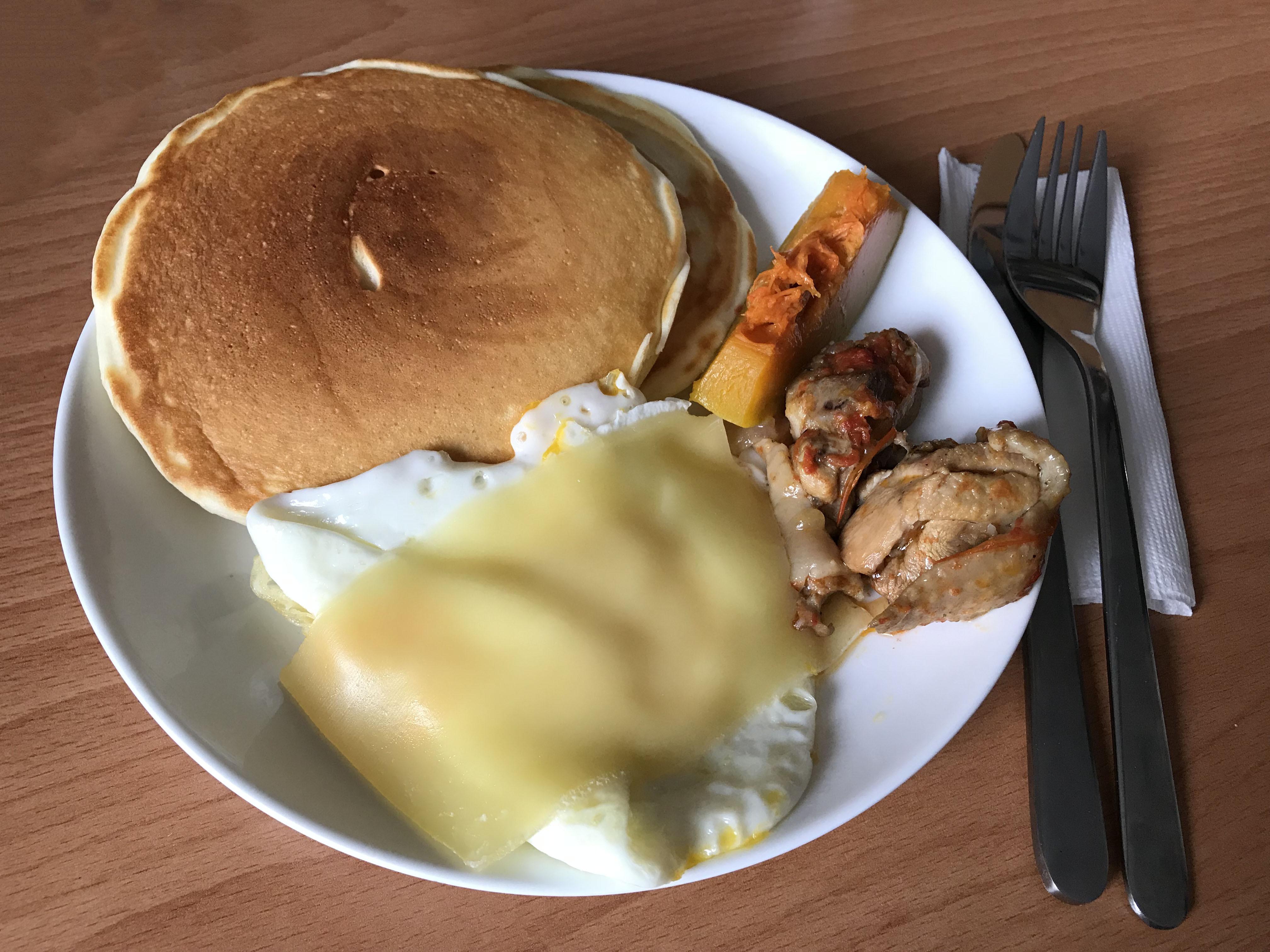 早餐鬆餅(無蛋配方)